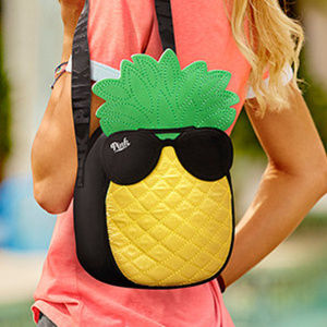 VS PINK Pineapple Cooler Tote Lunch Bag